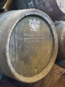 Tio Pepe's private barrels