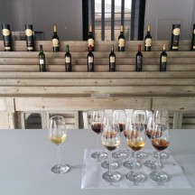 the private tasting room