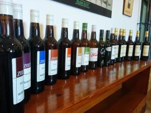 Delgado Zuleta bottles