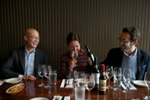 I love this picture from Sherryfest West 2013 of Peter LIem, Cheryl Wakerhauser + Jaime Gil  photo by Motoya Nakamura/The Oregonian