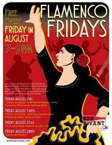 Flamenco + Flor Fridays