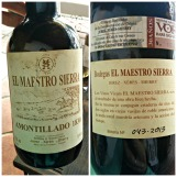 Amontillado 1830 label