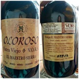 Oloroso Extra Viejo label