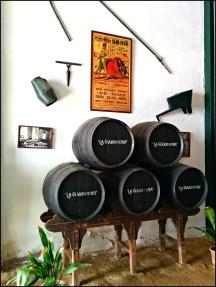 La Garrocha barrels