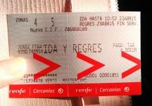 El Puerto train ticket