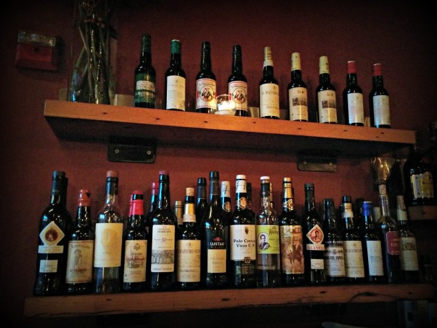 sherry line up
